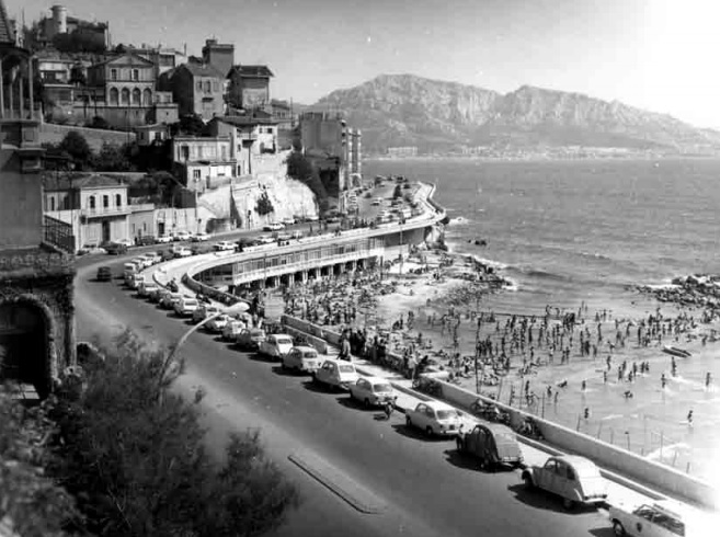 Marseille, Le plus long banc du monde se trouve à Marseille sur la Corniche Kennedy, Made in Marseille, Made in Marseille