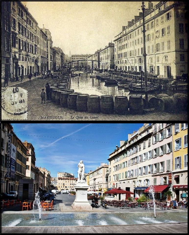 , Quand le Cours Estienne d'Orves avait des airs de Venise avec son canal, Made in Marseille, Made in Marseille