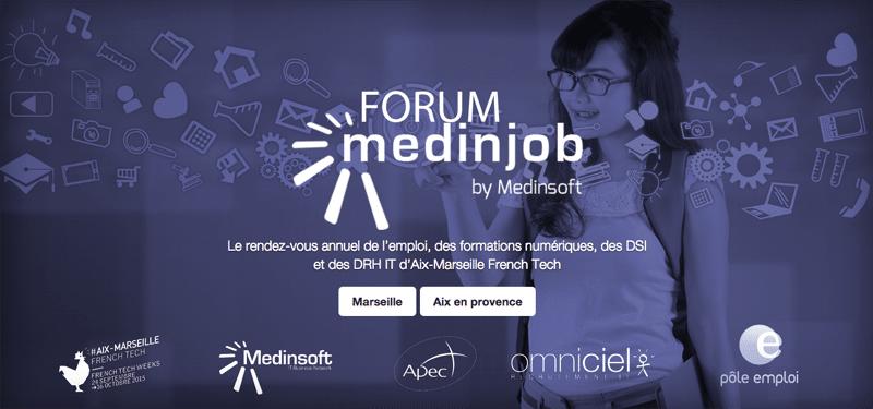 numérique, [Forum Medinjob] 300 emplois dans le numérique proposés à la Friche