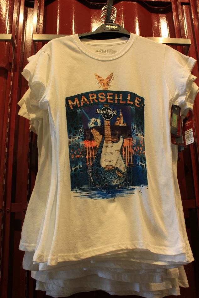 T Shirt Hard Rock Cafe Marseille