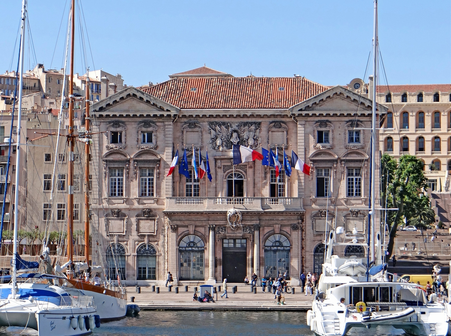 Visiter l h tel de ville de marseille made in marseille - Office tourisme marseille visites guidees ...