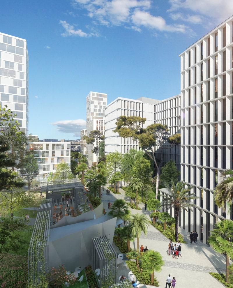 , Tour d'horizon des projets en cours sur Euroméditerranée, Made in Marseille