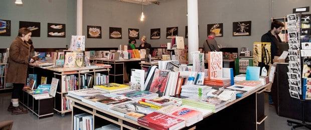 La librairie de la Friche