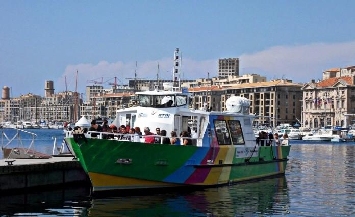Une nouvelle navette maritime entre la pointe rouge et les - Navette vieux port pointe rouge marseille ...