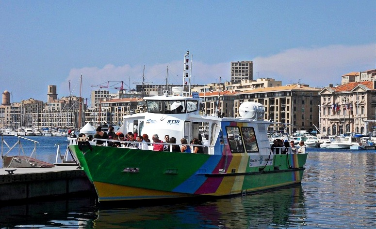 maritime, Une nouvelle navette maritime entre la Pointe-Rouge et les Goudes, Made in Marseille, Made in Marseille