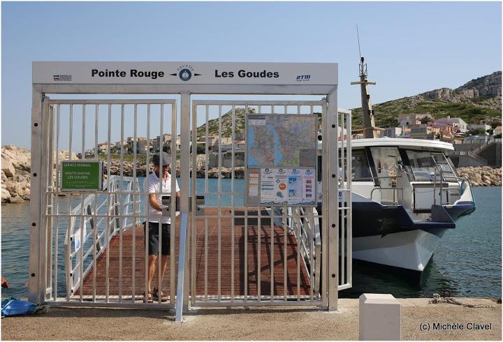 Reportage la navette maritime entre la pointe rouge et - Navette vieux port pointe rouge marseille ...