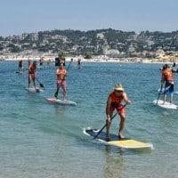 Du paddle sur les plages du Prado et Borély
