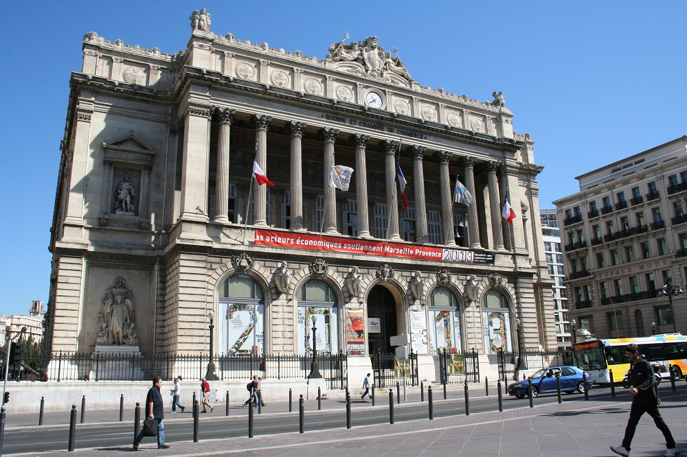 Visiter le palais de la bourse de marseille made in for Chambre de commerce et industrie marseille