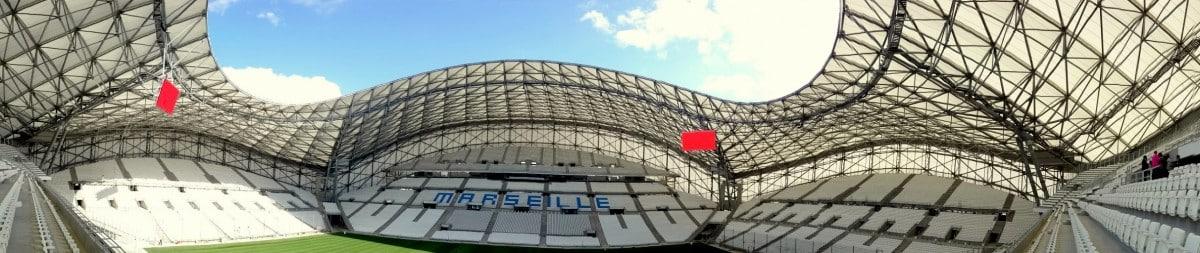 Vélodrome, Le nouveau stade Vélodrome inauguré en photos, Made in Marseille, Made in Marseille