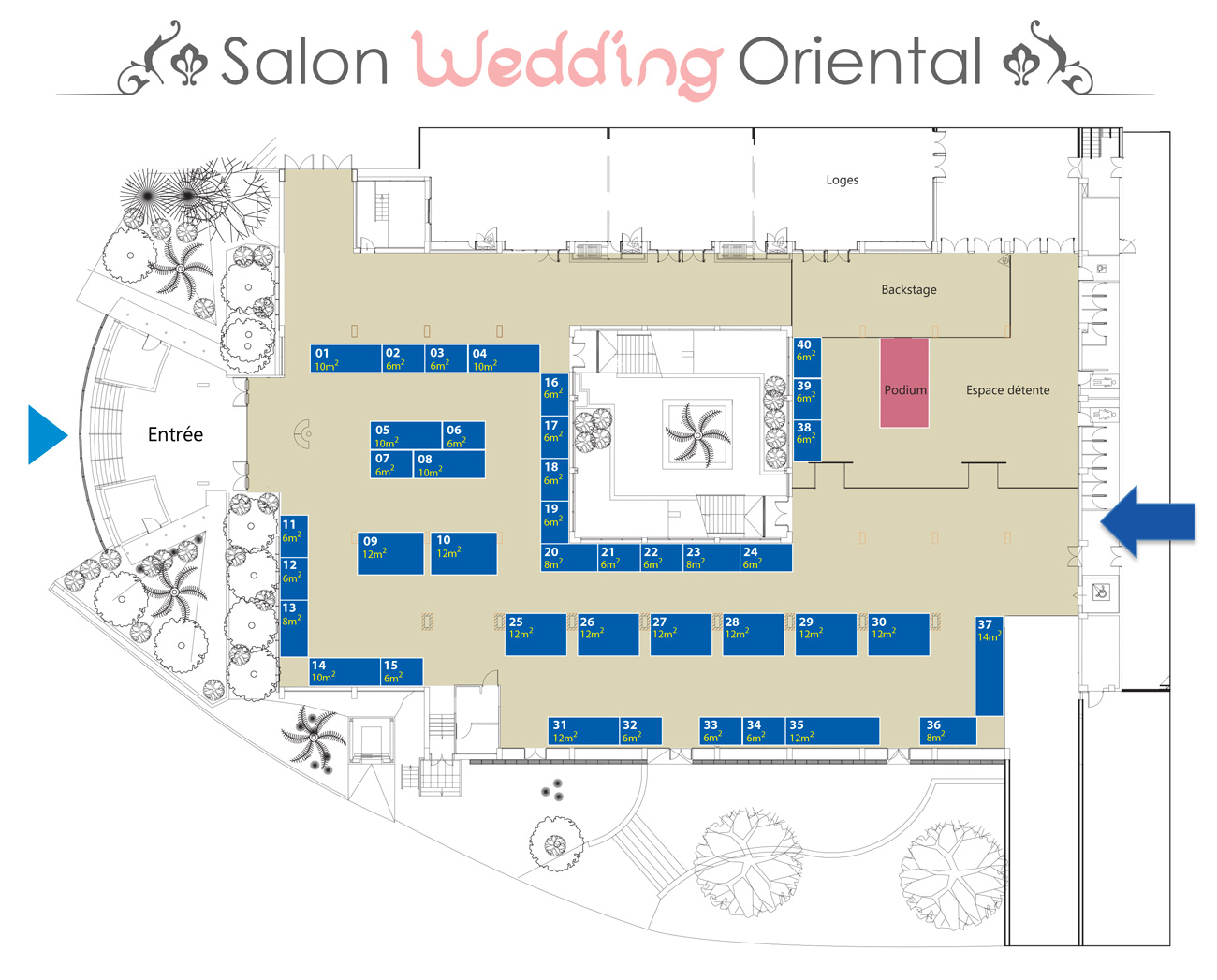 1 re dition du salon d di au mariage oriental for Salon marseille parc chanot