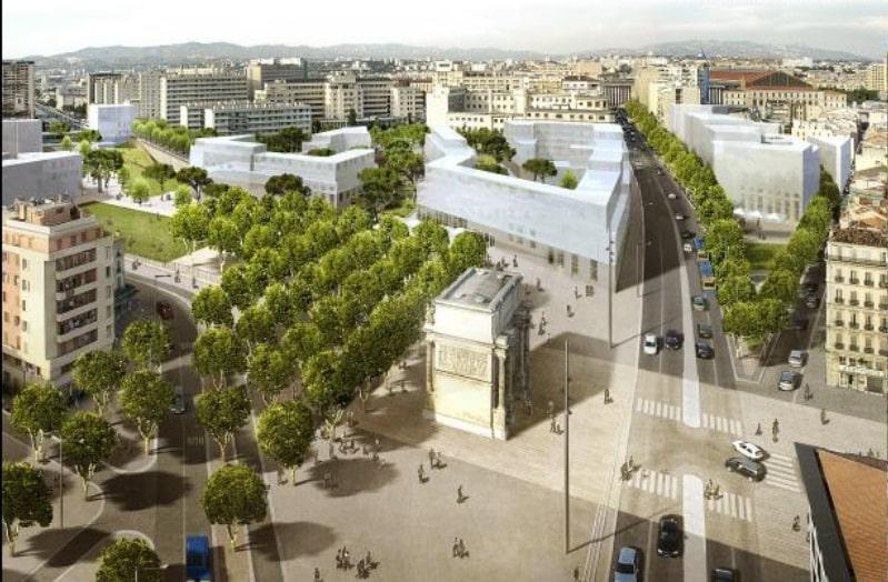 , Le réaménagement de la Porte d'Aix en quartier étudiant élu meilleure transformation urbaine