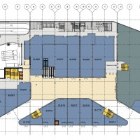 Plan du RDC © Benoy / Didier Rogeon Architecte