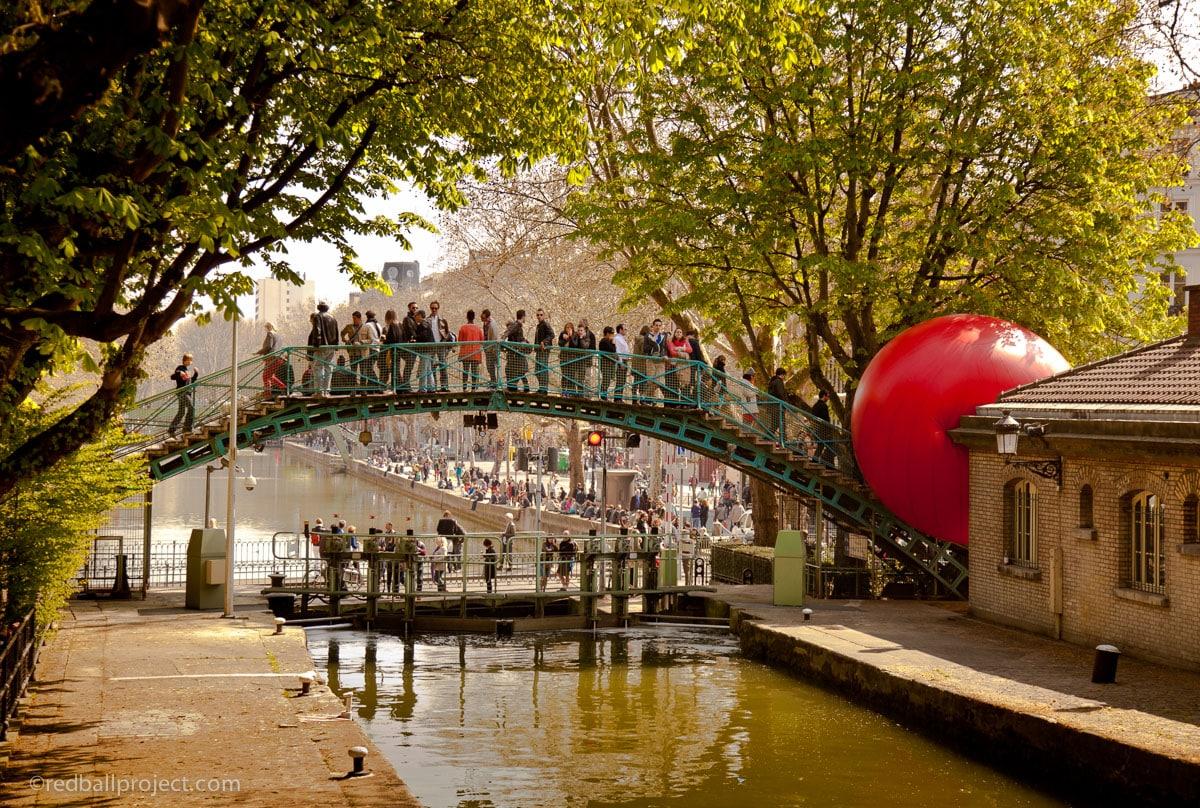 Marseille, [Street-art] A la recherche de la boule rouge dans Marseille !, Made in Marseille