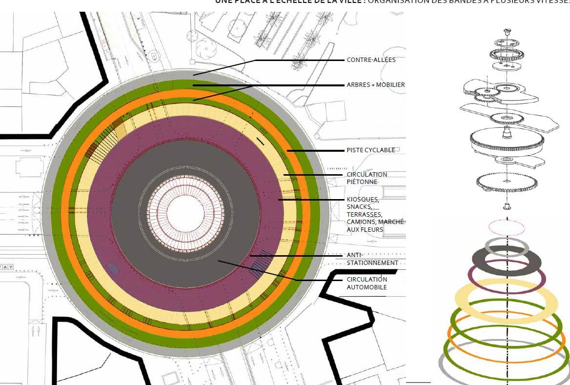 Reportage c 39 est parti pour la transformation du rond point du prado - Monoprix rond point du prado ...