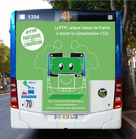 RTM, La RTM teste en première nationale une clim' non polluante, Made in Marseille