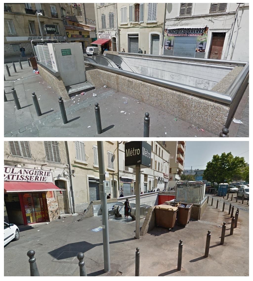 Jules Guesde, Euromeditérranée transforme la Porte d'Aix et sa sortie de métro, Made in Marseille, Made in Marseille