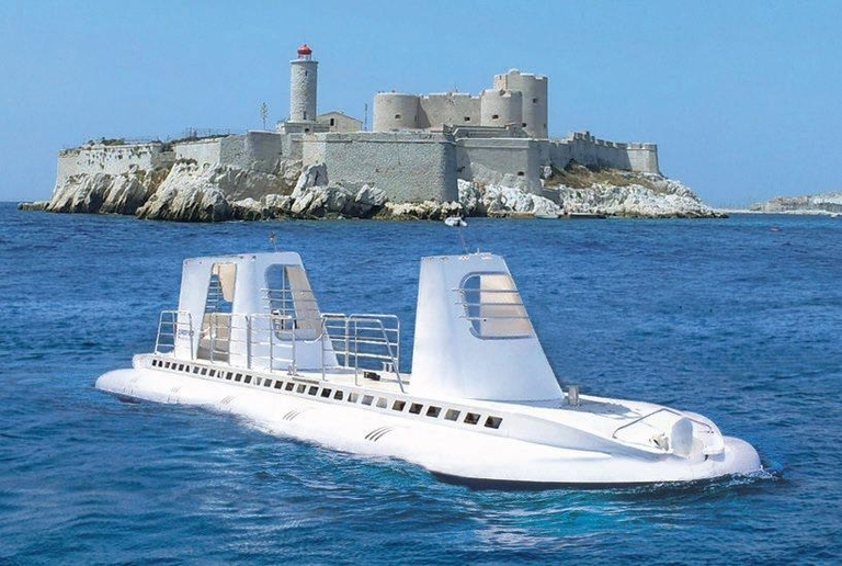 sous-marin, Un cassidain va lancer un sous-marin de tourisme marseillais !, Made in Marseille, Made in Marseille