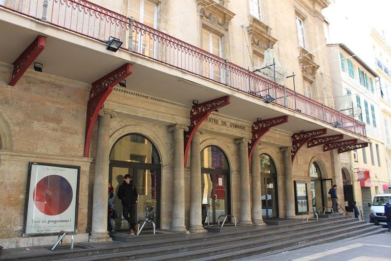 Gymnase, Le théâtre du Gymnase rénove l'une des plus belles façades de la Canebière, Made in Marseille